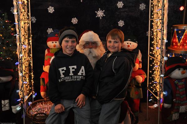 Santa Pictures 2009